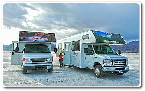 RV Traveling with Children - Mojave Desert